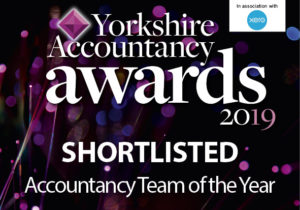 Shortlisted for Yorkshire Accountancy Awards